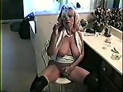 Steamy blonde milf orders you to conform her