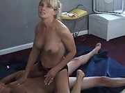 Kinky cheating wife riding a stranger's stiff dick