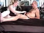 Buxom cuckold wifey having sex with a hairy stud